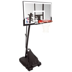 But de basket Spalding® « NBA Gold Exacta High Lift Portable »
