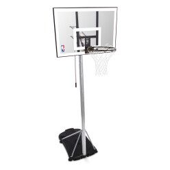 "Spalding Basketballanlage ""NBA Silver Portable"""
