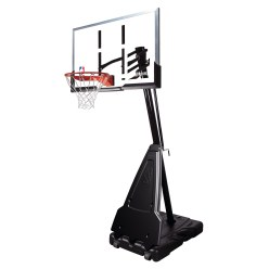 But de basket Spalding « NBA Platinum Helix Lift Portable »