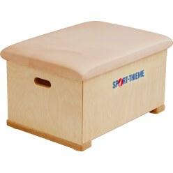 Plinth Sport-Thieme® « Multiplex » 1 caisson Revêtement en cuir