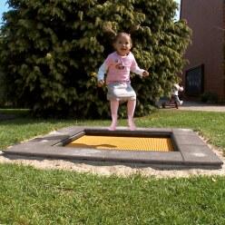 Trampoline pour enfants Eurotramp® «Kindergarten Mini »