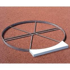 Sport-Thieme® Befestigungs-Set für Abstossbalken