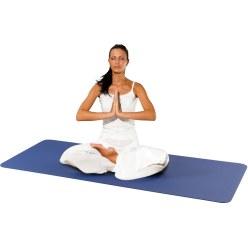 """Sport-Thieme Yoga-Matte """"Exklusiv"""" Blau"""