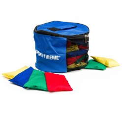 Kit de sacs de fèves Sport-Thieme® avec sac  Lavable avec granulés plastiques