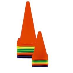 Cône de signalisation, lot de 10 20,5x20,5x37 cm
