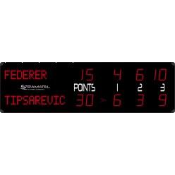"""Stramatel® Tennis Anzeigetafel """"RTX Alpha"""""""