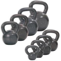 Lot de kettlebells Sport-Thieme® « Martelées »