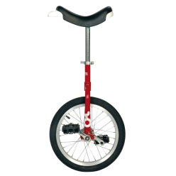 Monocycle OnlyOne « Outdoor » 16'', 28 rayons, rouge