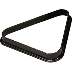 Triangle de billard en plastique Pour billes diam. 57,2 mm