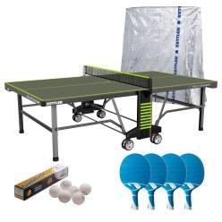 "Kettler® Tischtennis-Set ""Outdoor 10"""