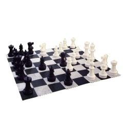 Plateau d'échecs en extérieur