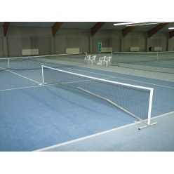 Installation de mini-tennis
