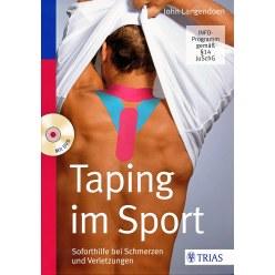 """Buch """"Taping im Sport"""" inkl. DVD"""