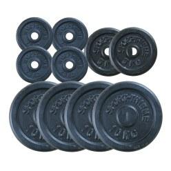 Gusseisen Hantelscheiben-Set 60 kg