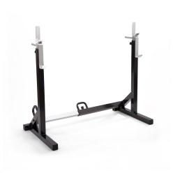 Sport-Thieme Ablage- und Kniebeugenständer, verstellbar