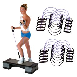 Sport-Thieme® Fitness-Step-Tube 10er Sets