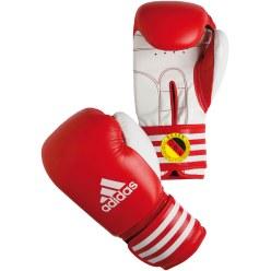 Gant de boxe de compétition Adidas® «Ultima Rigid Cuff» Rouge, 12 oz.