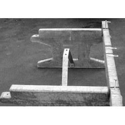 Untergestell für die Sport-Thieme® Tischtennisplatte