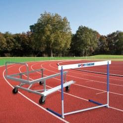 Kit haies d'entraînement et chariot de transport Sport-Thieme®