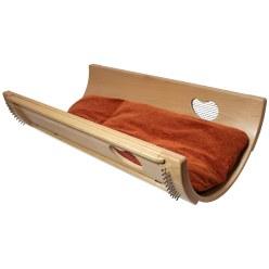 Allton Bascule sonore avec matelas rembourré de foin 180 cm