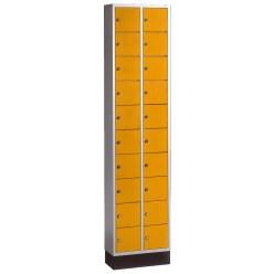 Armoire à casiers « S 4000 Intro » Orangé jaune (RAL 2000)