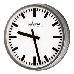 Peweta® Wetterfeste Aussenuhr Standard, Zifferblatt arabische Zahlen