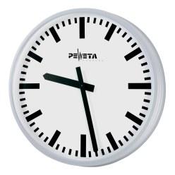 Peweta® Grossraum-Wanduhr ø 42 cm, Batteriebetrieb