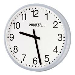 Peweta® Grossraum-Wanduhr ø 52 cm, Netzbetrieb