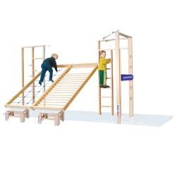 Mur de gymnastique rabattable Sport-Thieme® « Combi »