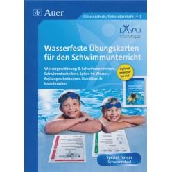 Fiche « Wasserfeste Übungskarten Schwimmen »