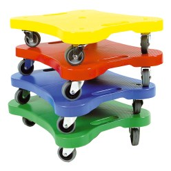Lot de 4 planches Scooter