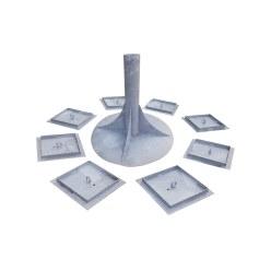 Huck Eingrab-Erdankerset für Cheops-Pyramiden
