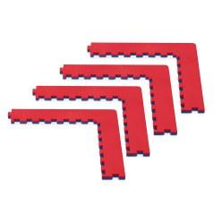Kit de coins pour tapis de fitness ProGame Trocellen « Tatami »