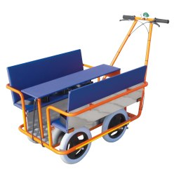 Chariot de jardin d'enfants