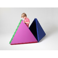 Tapis aimantés Tukluk® Gros triangle, L : 100 cm, Pro