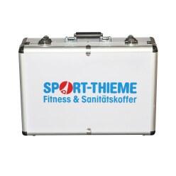 Fitness- und Sanitätskoffer gefüllt