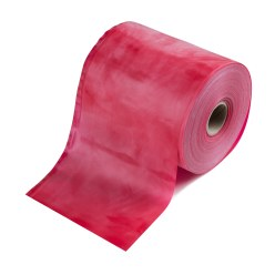 TheraBand Rolle Übungsband in 45,5 m Rot, medium