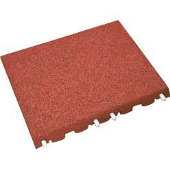 Euroflex® Fallschutzplatte Rot, 40 mm