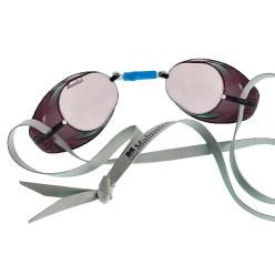 Original Malmsten Schwedenbrille, verspiegelt Blau verspiegelt