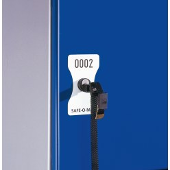 Nummernschild Safe-O-Mat Pfandschloss