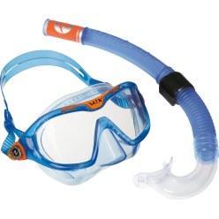 "Aqua Lung® Kinder-Schnorchelset ""Reef"" Transparent Blau"