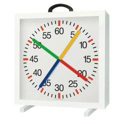 Horloge d'entraînement avec affichage des minutes et des secondes