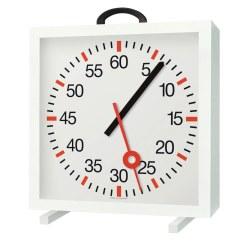 Horloge d'entraînement avec trotteuse en croix