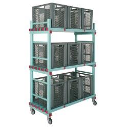 REA® Kunststoff Materialwagen 165
