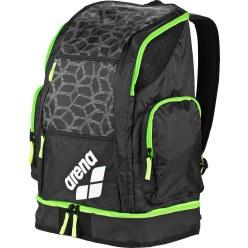 """Arena® Schwimmer-Rucksack """"Spiky 2 Large"""" Black-X-Pivot-Fluo green"""