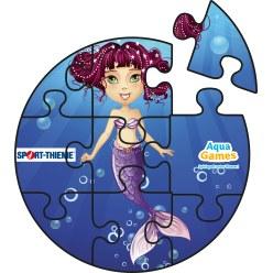 Puzzle aquatique Animaux aquatiques, Carré