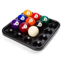 Tablette pour 16 billes de pool
