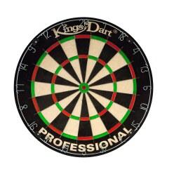 Kings Dart® Profi Turnier-Dartscheibe