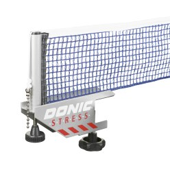 Ensemble poteaux + filet pour table de tennis de table Donic « Stress »