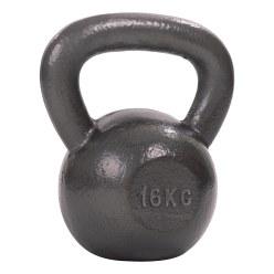 Kettlebell Sport-Thieme martelée, laquée de coloris gris